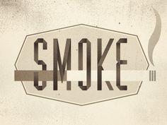 Smokedribble #logo #typography