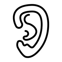 See more icon inspiration related to ear, medical, body parts and anatomy on Flaticon.