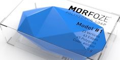 MORFOZE PolyhedronSoap - TheDieline.com - Package Design Blog #soap #morfoze #polyhedron