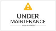 Under Maintenance graphic #undermaintenance #graphic