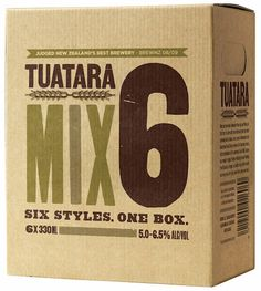 Tuatara Mix Pack #beer #bottle #label #packaging