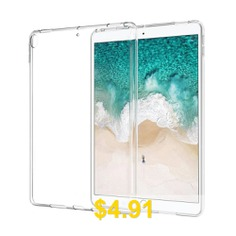 Soft #TPU #Cover #Case #Silicone #Transparent #Slim #Clear #Cover #for #New #iPad #9.7 #- #TRANSPARENT