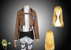 Survey Corps Cosplay Costume Historia Reiss Uniform #corps #costume #survey #cosplay