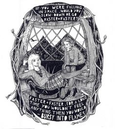 twin+peaks+two.jpg (JPEG Image, 1433x1600 pixels) - Scaled (50%) #twin #illustration #ink #peaks