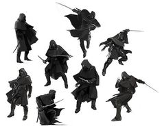 Concept Poses #ninja #character #concepts