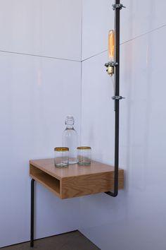RoomDetail #wood #lighting #pipe