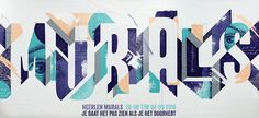 #murals #typography #collage