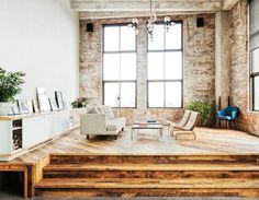 David Karp Apartment Lounge.jpg 620×482 pixels #interior #design #wood #living #room #couch