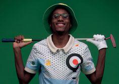 Golfing suit #golf #pattern