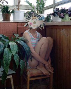 Alena Zhandarova Creates Domestic Scenes and Self Portraits