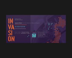 LSU Museum of Art Invasion invite #map #robots