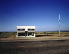"""Prada Marfa"", 2005, courtesy of Art Production Fund, New York; Ballroom Marfa, Marfa; the artists, photo by James Evans"