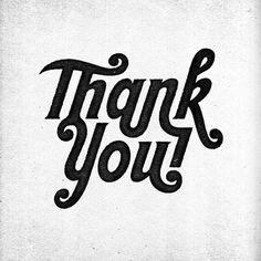 THANK YOU #photocopy #ligature #texture #typography