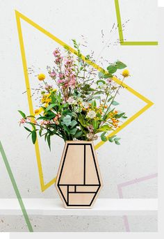 Graphic Vase II - prings.be