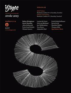ISType 2013 #minimal #poster #typography