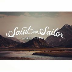 saint and sailor #illustration #handtype #handlettering #design #typography #type #logo