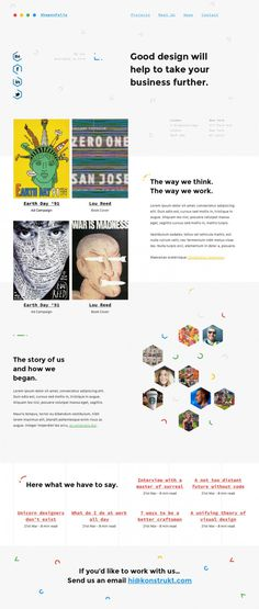 Shapes – One Page Creative Portfolio