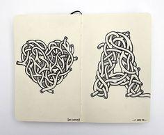 #illustration #moleskin