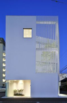 Company Building in Kanagawa by HMAA #design #architecture #minimalism