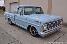 1969 Ford F100 For Sale #truck #classic
