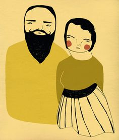 Ashley Goldberg, #illustration #couple #people