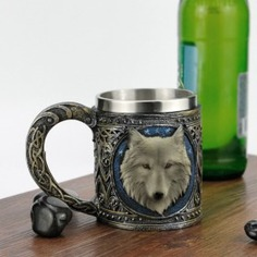 Game of Thrones Wolf Mug