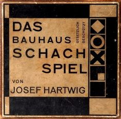 Material index (Original package design for Josef Hartwig's...)
