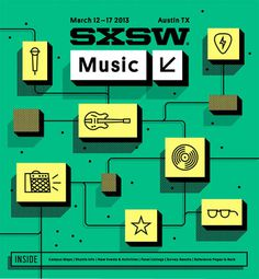 SXSW2013b_ProgramCover_Music_750 #illustration