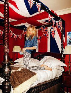 Poppy Delevingne by Xavi Gordo for Elle Spain