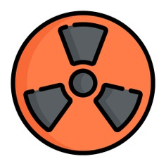 See more icon inspiration related to toxic, shapes and symbols, circular, signs, sign and circle on Flaticon.