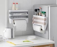 Kitchen Plastic Storage Rack - Shop For Gamers