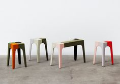 upholstered jib stools by peter marigold for kvadrat divina exhibit #stool