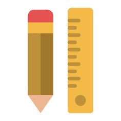 See more icon inspiration related to ruler, pencil, construction, drawing, improvement, home repair and construction and tools on Flaticon.