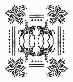 _ #palms #illustration #minimal #linear #desert