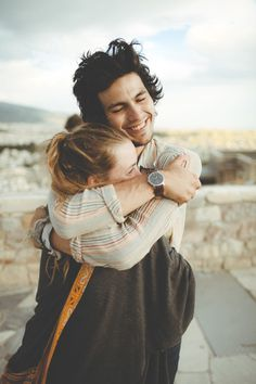 Tumblr #couple #love #hug