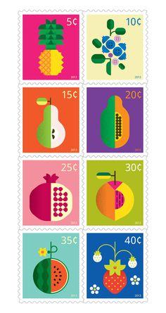 Good design makes me happy: Chris Dina   Fruit Prints