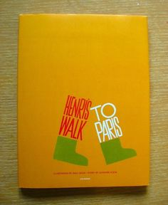 All sizes | Henri's Walk To Paris: 1 | Flickr - Photo Sharing! #bass #henris #paris #saul #books #illustration #childrens #to #walk