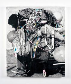 FECAL FACE DOT COM #illustration #art #drawing #man #person #bag #bags #backpack #marco zamora