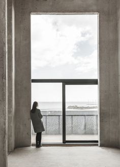 "Window unit and metal panels at ""The Silo"" by COBE in Copenhagen A former silo in Copenhagen transformed into a stunning residential co"