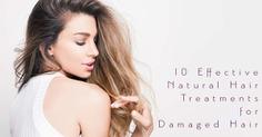 natural hair treatments for damaged hair