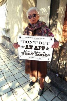 FFFFOUND! | Grandmother Tips on the Behance Network #type #photography #app #grandma
