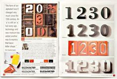 Gestalten | House Numbers by Erik Spiekermann #spread #publication #typography