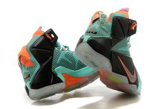 Shoes Nike Sale Zoom Lebron Xii 12 Mens Online Green Black on