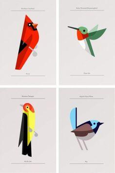 Posters | Sgustok Design #josh #design #birds #poster #brill