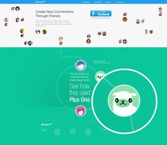 joinplusone.com - Homepage #events #connections #ux #dogs #ui #website #illustration #animals #landingpage
