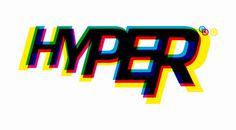 Hyper Branding, by morphlondon #inspiration #creative #rgb #branding #design #graphic #color #hyper