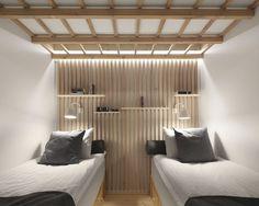 Dream Hotel by Studio Puisto Architects #minimalist interior #interior design #minimalism