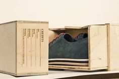 Sneaker/Shoe No.1 on the Behance Network #packaging
