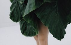 COULEUR COUTURE #fashion #skirt #design #leaves