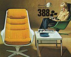 IKEA 1973 #white #modern #yellow #ikea #vintage #mod